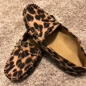 New leopard shoes
